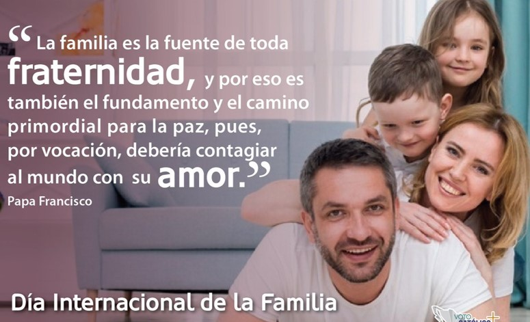 Que el amor crezca en las familias